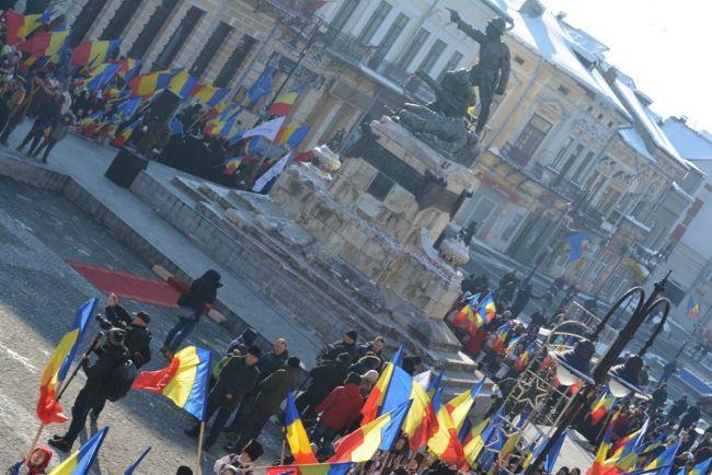 Ceremonie impresionanta in Centrul Istoric: cea mai