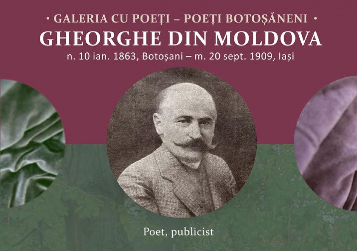 GALERIA CU POEȚI: Gheorghe din Moldova, sentimentalul si ironicul - Despre  Botosaniul interzis